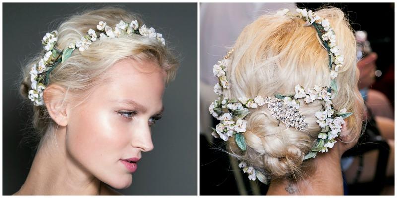 floral crown tips