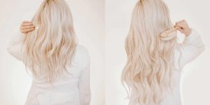 Image Showing Two Views of Hair - Short and Long.