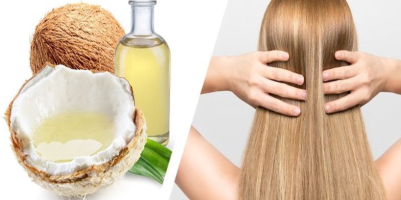 Image Representing The Benefits of Coconut Oil For Hair.