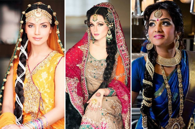 Beautiful Brides in their wedding attire and trending hairstyles, ready for their D-day.