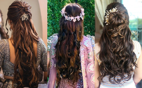 An image showing Wedding Reception Hairstyles ideas