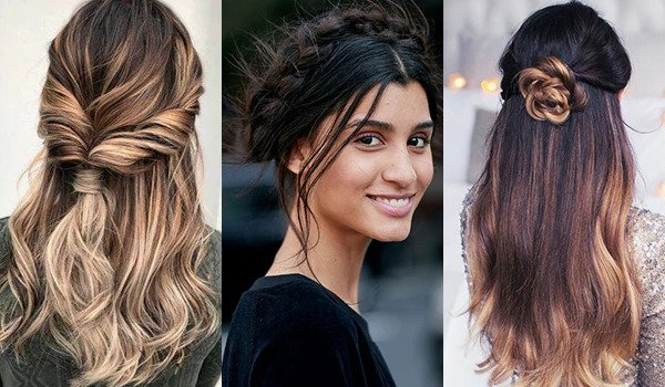 Image showing three different types of hair styles.